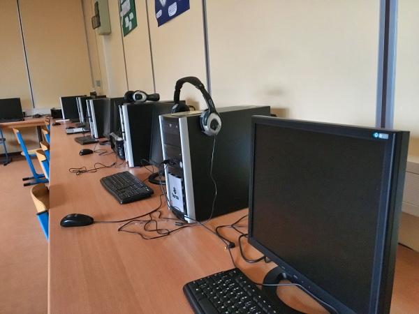 Ein Computerraum