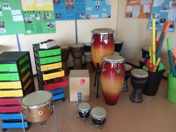 Raum mit Instrumenten